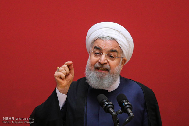 'Don't twist the lion's tail': Rouhani to Trump