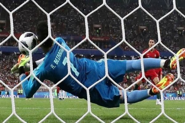 Iran goalie not boastful about saving Ronaldo's penalty kick!