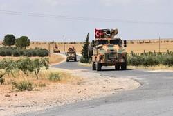 Suriye'nin kuzeyinde Türk-Rus ortak devriyesi