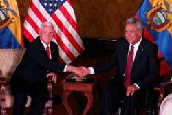 «پنس» آمریکای لاتین را به منزوی سازی ونزوئلا ترغیب می کند