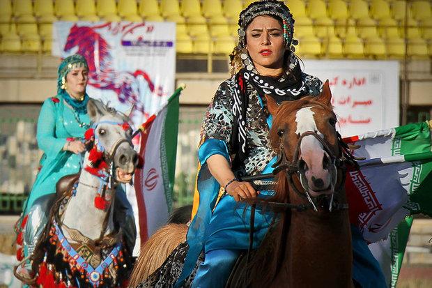 İran'da ikinci Kürt Atları Festivali