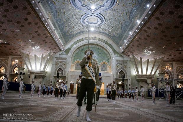 Judiciary head reciting pledge to lofty ideals of Imam Khomeini