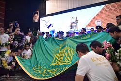 ایرانی ٹیم نے روبو کپ ٹورنامنٹ کے تمغوں کو حرم رضوی میں ھدیہ کردیا