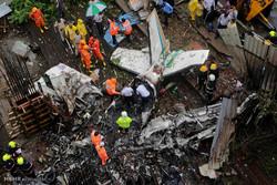 سقوط هواپیما در هند