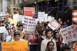 اعتراضات علیه سیاست مهاجرتی ترامپ