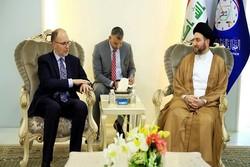 عمار حکیم کی امریکی سفیر سے ملاقات