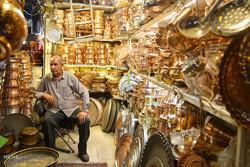 Hamedan's Coppersmith bazaar