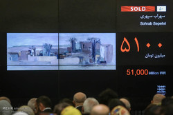 Tehran Auction sells $7.8 mn Iranian artworks