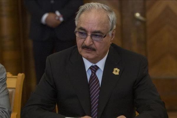 ABD'li heyet Libya'da Halife Hafter ile görüştü