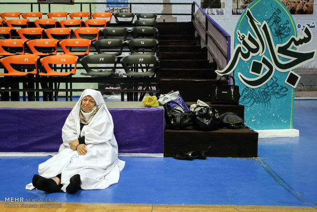 A rehearsal for Hajj in Tehran