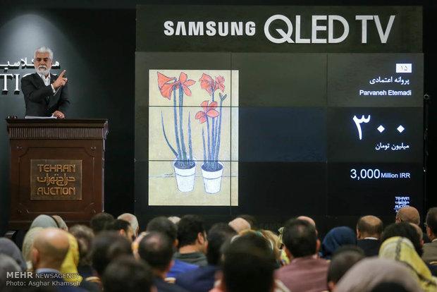 Tehran Auction sells $7.8 mn Iranian artworks