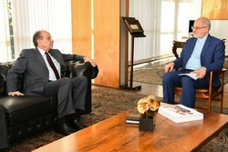 Iranian diplomat talks JCPOA with Brazilian FM