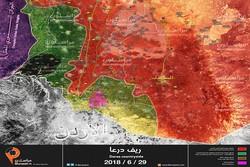 الجيش السوري يتقدم في ريف درعا وعدة قرى تدخل المصالحة