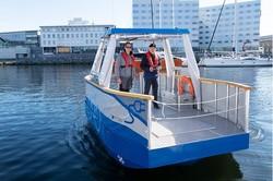قایق برقی خودکار عبور از رودخانه ها را ساده می کند