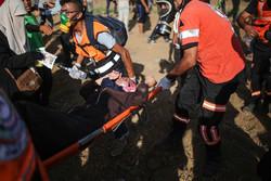 28 اصابة بينهم صحفي خلال قمع الاحتلال لمسيرات العودة شرق القطاع