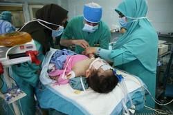 جراحی قلب کودک 15 ماهه در بیمارستان شهید مدرس