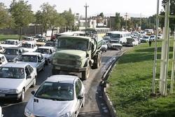 ترافیک پرحجم در خروجی های تهران