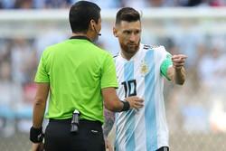 Messi'den tarihi protesto!