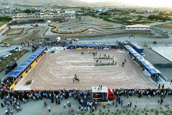 VIDEO: Arabian horse beauty contest in Hamadan