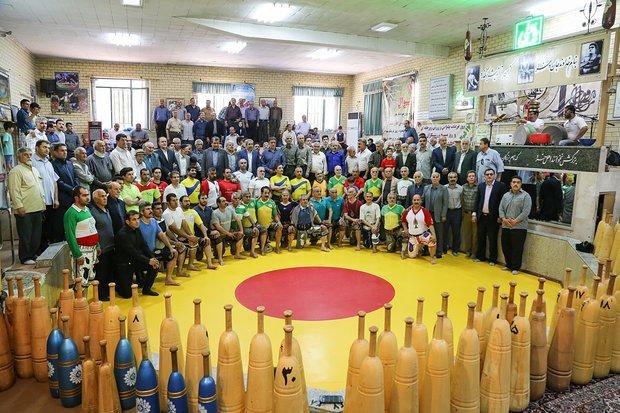 ورزش زورخانه ای در همدان / به مناسبت روز فرهنگ پهلوانی و ورزش زورخانه ای