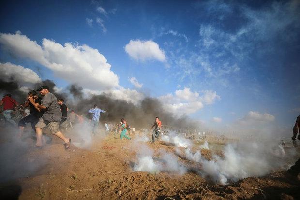 ساکنان نوار غزه خود را برای برگزاری تظاهرات بازگشت آماده میکنند