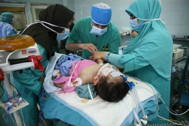عمل جراحی کودک 15 ماهه