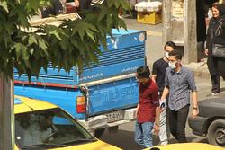 ریزگردها مهمان ناخوانده شهر سنندج