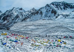 """Base Camp"" Amin Dehghan won an by PSS honorable mention in the Photo Travel category at the 3rd Pacific-Atlantic International Photographic Circuit."