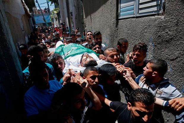 إستشهاد الشابين الفلسطينيين