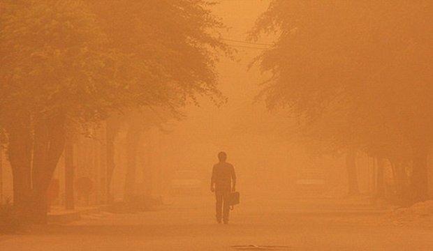 گرد و غبار شدید در جنوب کرمان