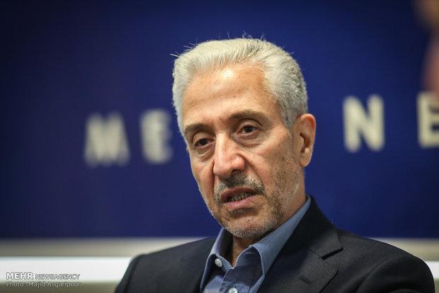 زيارة وزير العلوم الايراني لمقر وكالة مهر للأنباء