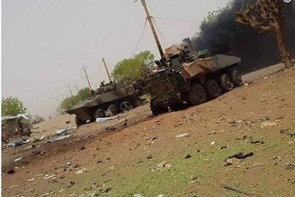 نیروهای فرانسوی در شمال کشور مالی مورد حمله قرار گرفتند