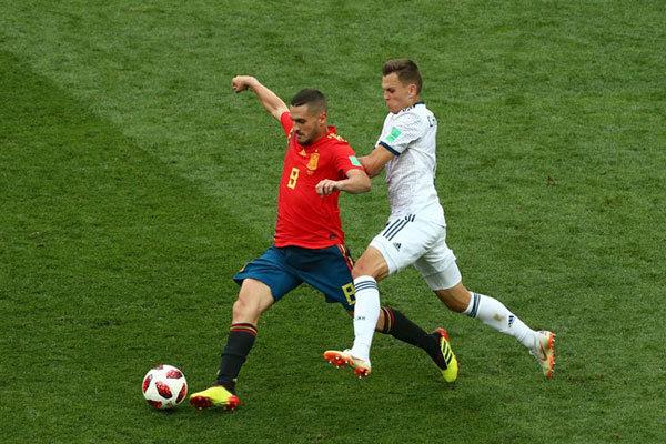 روسيا تقصي إسبانيا وتتأهل لربع نهائي المونديال