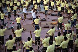 مؤتمر رياضة بيت القوة في مشهد المقدسة
