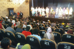 تماشاخانه سنگلج میزبان بیماران انجمن دیستروفی و ام اس ایران شد
