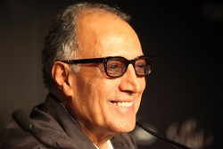 Iranian auteur Abbas Kiarostami in an undated photo