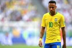 دیدار تیم های ملی برزیل و مکزیک - نیمار