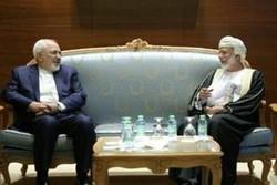 Iranian, Omani FMs meet in Muscat