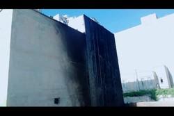 اصابة 24 شخصا في حريق اندلع في برج سكني غرب طهران