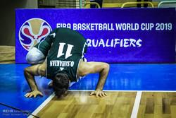 پیروزی تیم ملی بسکتبال مقابل قزاقستان