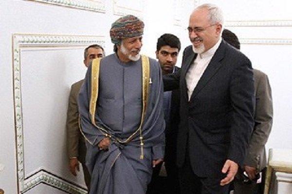 Zarif Umman Dışişleri Bakanı'yla görüştü