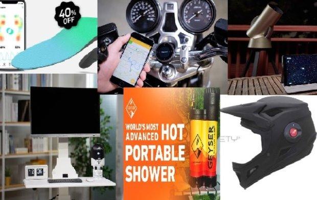 گجت های جالب بهار ۹۷ را ببینید/ کفی هوشمند کفش و حمام صحرایی