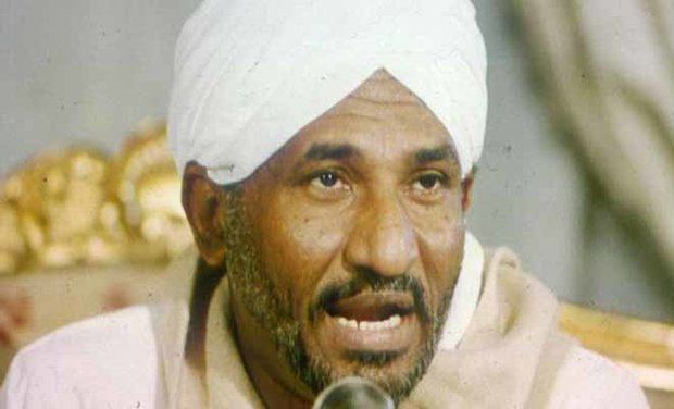 زعيم حزب الامة القومي السوداني يرفض التطبيع مع العدو الصهيوني