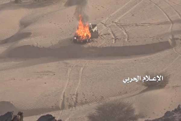 """""""أنصار الله"""" تطلق صاروخا باليستيا على مواقع للتحالف العدوان بالساحل الغربي لليمن"""