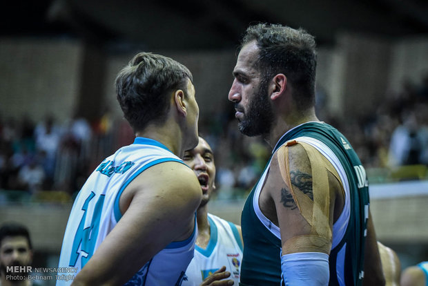 Iran vs Kazakhstan at FIBA Basketball World Cup qualifier