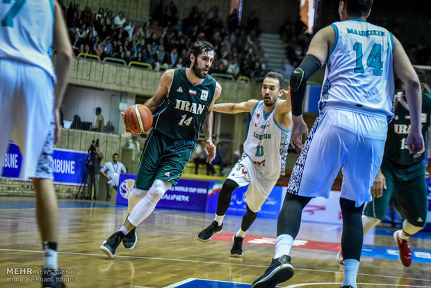 VIDEO: Iran vs Kazakhstan highlights at FIBA Asian qualifiers
