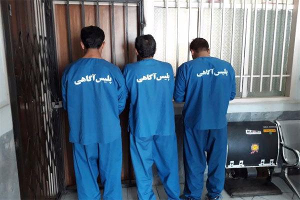 رهایی گروگان 16ساله از چنگال آدم ربایان در کهنوج