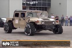 طرح انقلابی دارپا؛ چرخ شنی تبدیل پذیر برای خودروهای جنگی