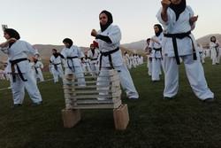 همایش ورزشکاران هیأت کاراته پردیس در بومهن برگزار شد