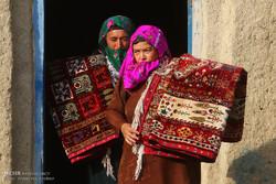 Türkmen kadınların el emeği göz nuru ürünleri